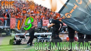 Football: 2nd Round Colorado 3A Playoffs, Erie vs Green Mountain