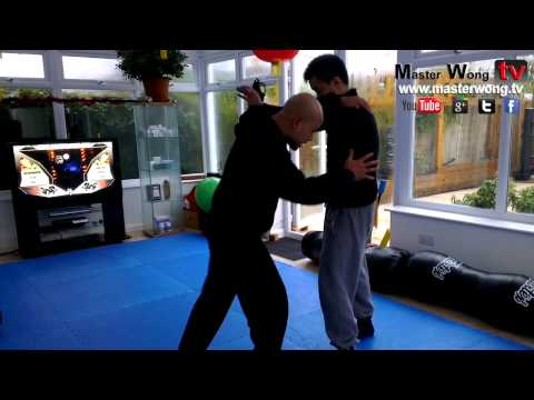 wing chun lesson with master wong