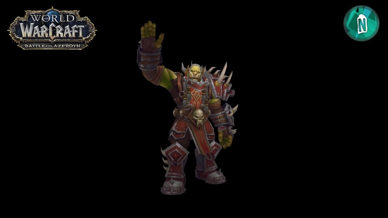 High Overlord Saurfang Model to Battle of Azeroth in patch 7 3 5