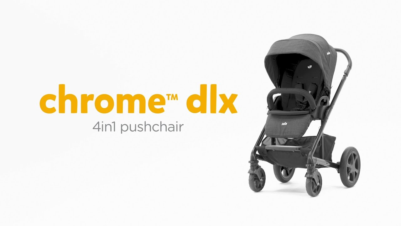 Joie Buggy Chrome Test Joie Chrome Dlx