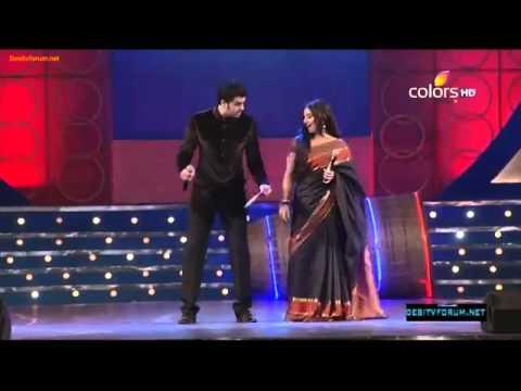 Manish Paul & O Lala Girl Vidya Balan