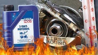 Liqui moly 2T 1052 Jak skutecznie olej chroni silnik? 100°C