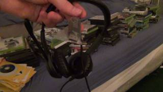 OnlineVideoGames - Logitech H530 USB Headset Unboxing / Opening Commentary Review