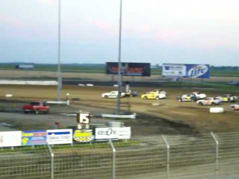 Red River Valley Speedway Wissota Street Stock Feature 2010