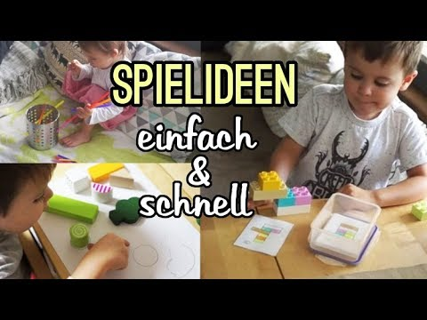 6 einfache spielideen f r kinder i diy 39 s gegen langeweile youtube. Black Bedroom Furniture Sets. Home Design Ideas