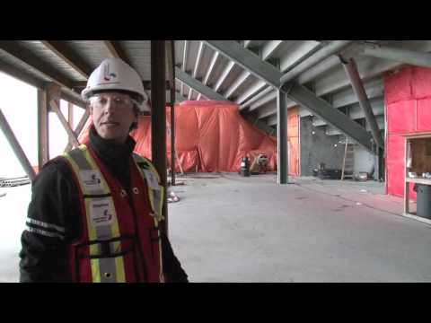 Tour goes inside Investors Group Field construction