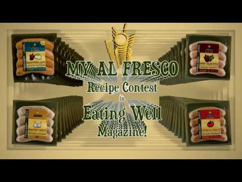 al fresco chicken sausages... live life with flavor!