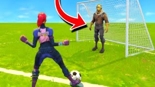 The FOOTBALL CHALLENGE Fortnite Battle Royale! (Lachlan VS Miniminter)