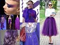 Ultra Violet Fashion Lookbook Inspiration - Pantone Color of the Year 2018