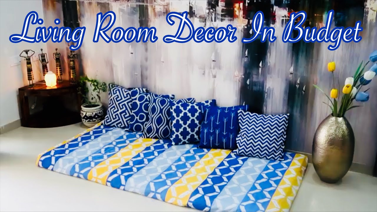 living room decor ideas on a budget lower sitting area decor priya vlogz