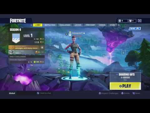 Fix Fortnite Won't Launch Xbox One After Season 6 Update Part 2 Sign In  Guest Account way to play