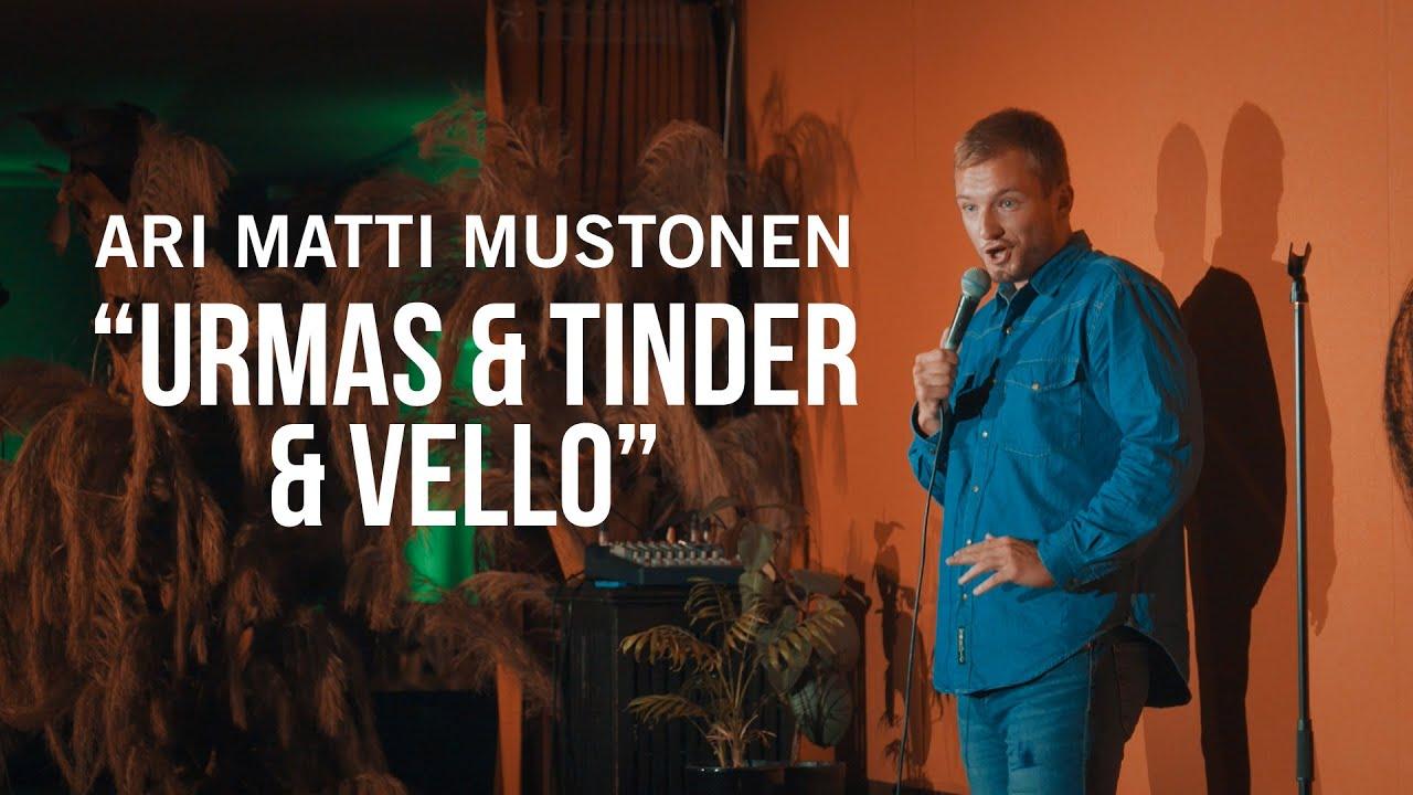 """Ari Matti Mustonen -""""Urmas & Tinder & Vello"""""""