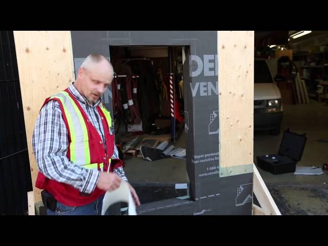 DELTA®-VENT SA - Window Installation Details #2 (long)