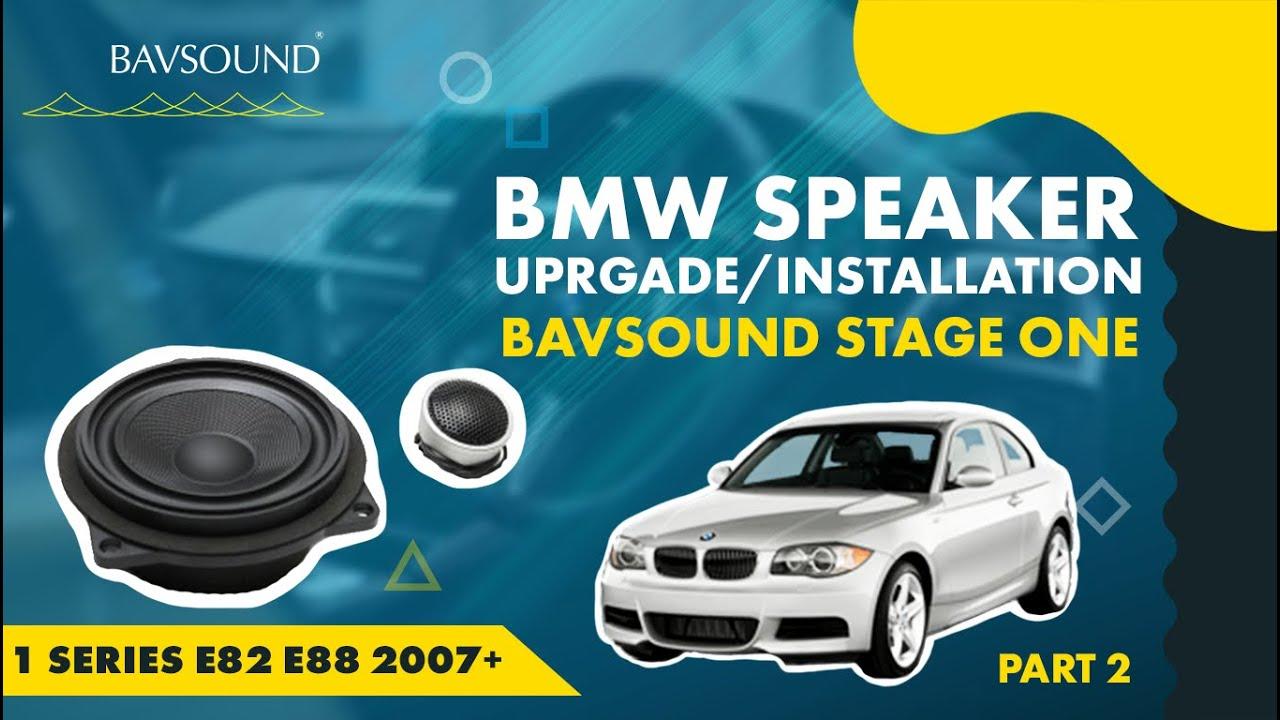 Bmw 1 Series Speaker Upgrade 2 2 Bsw Stage I E82 88 07