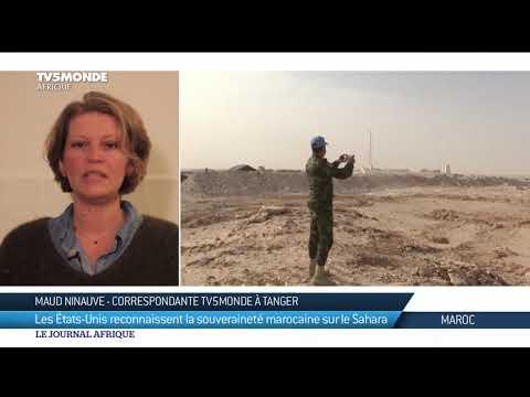 Reconnaissance Par Les Etats-Unis De La Souveraineté Marocaine Sur Le Sahara