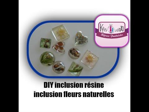 Tuto Resine Diy Bijoux Fleurs Naturelles Inclusion Resine Youtube