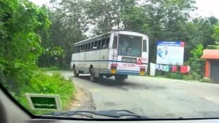 Crazy bus driver between Thekkady and Alappuzha