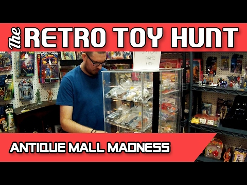 The Retro Toy Hunt | Episode 02 | Antique Mall Madness
