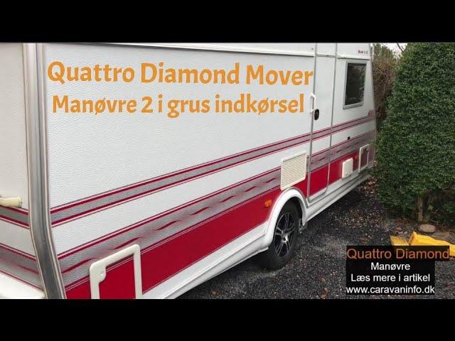Quattro Diamond Mover - Manøvre 2 i granitskærver indkørsel