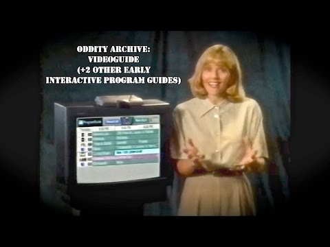 Oddity Archive: Episode 116 – VideoGuide (+2 other early Interactive Program Guides)