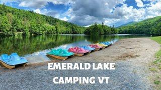 EMERALD LAKE CAMPING VT