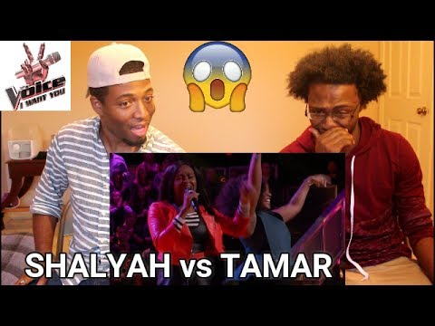 "The Voice 2016 Battle - Shalyah Fearing vs. Tamar Davis: ""Lady Marmalade"" (REACTION)"