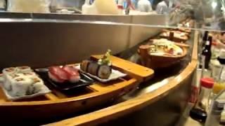 Японский суши бар в Токио