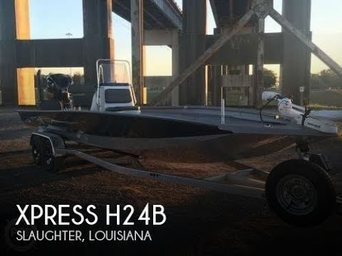 [UNAVAILABLE] Used 2016 Xpress H24B in Slaughter, Louisiana