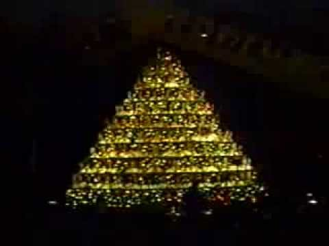Singing Christmas Tree 1995 at Southcliff - YouTube