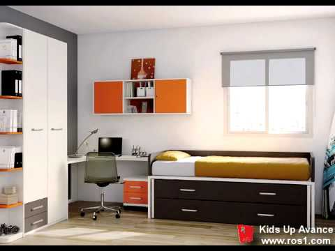 Dormitorio juvenil muebles ros youtube for Muebles infantiles ros