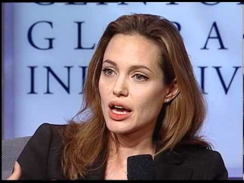 Angelina Jolie on refugees and access to education (CGI 2007)