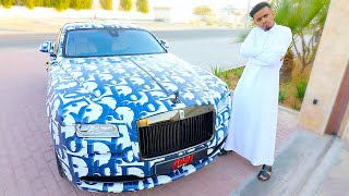 DUBAI'S RICHEST KID NEW CAR !!!