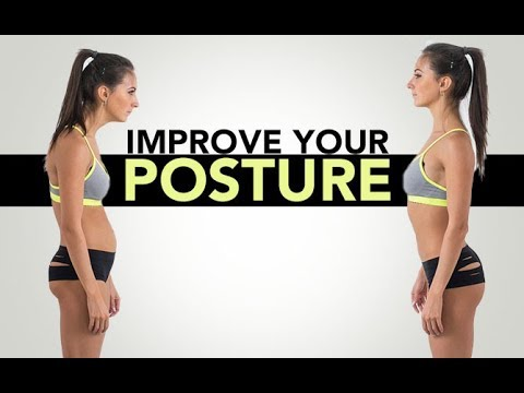 How To IMPROVE YOUR POSTURE   Fix Rounded Shoulders   5 Best Exercises!!