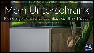 IKEA UNTERSCHRANK SELBST GEBAUT   Mein Unterschrank für das 60P und seine Modifikationen   AquaOwner