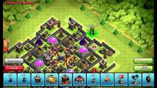 Clash of Clans Layouts - Town Hall 10 Farming Layout 49 (Jordan) with 275 Walls