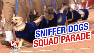 Sniffer Dogs Squad Passing Out Parade at Moinabad Police grounds (23-01-2015)