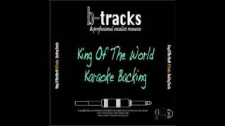 King of the world karaoke backing track Songs For A New World.m4v