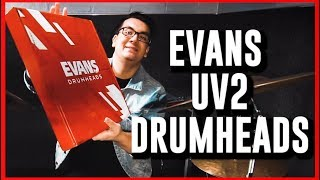 Evans UV2 Drum Head Review!