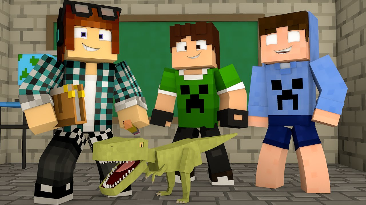 Minecraft Professor De Dinossauros Ark Craft