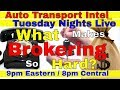 What Makes Brokering So Hard? Auto Transport Broker Business Easy?