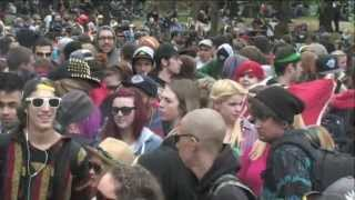 Toronto Global Marijuana Weed March May 11th 2013 Footage - Part 1 of 2