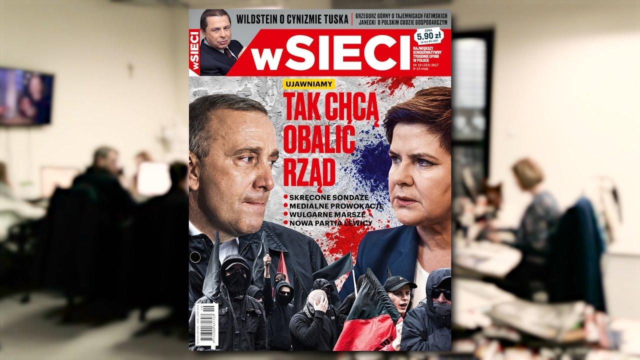 """""""wSieci"""" ujawnia jak opozycja chce obalić rząd"""