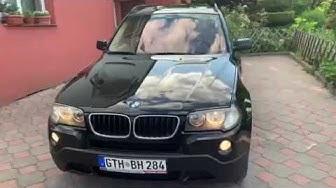 BMW x3 2.0d X-drive