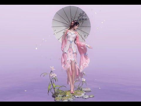 Moonlight Blade Online - Character Creation - Umbrella Class