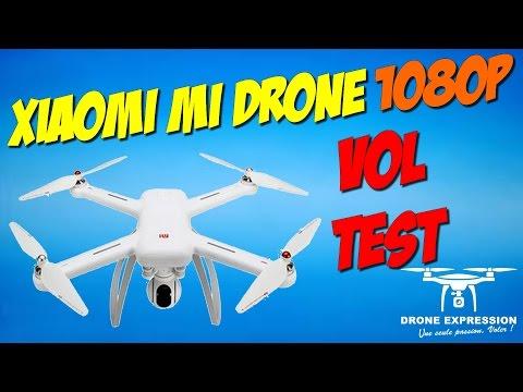 Premier Vol du Xiaomi Mi Drone et présentation de lAPP en francais - GEARBEST - DRONE EXPRESSION
