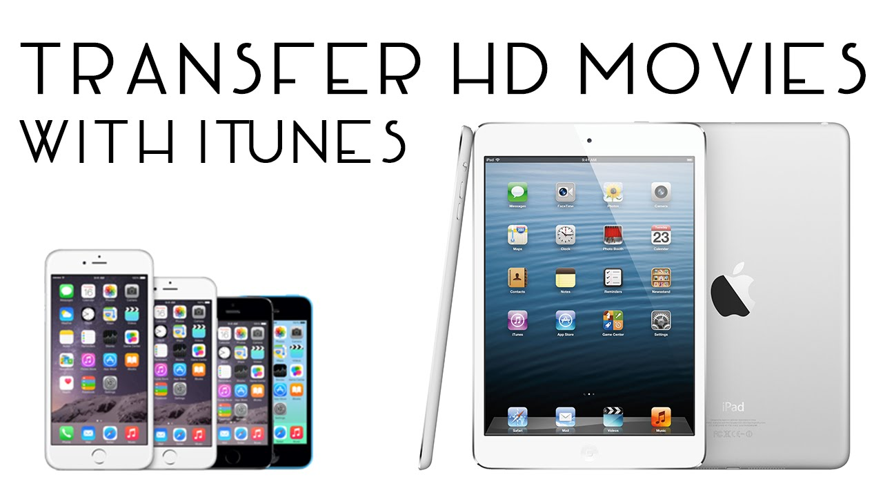 how to add movies to iphone from itunes