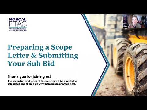 Construction Contracting - How to Write a Scope Letter