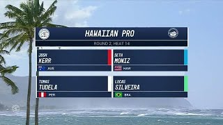 2017 Hawaiian Pro: Round Two, Heat 14