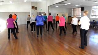 Love is In The Air - (Strictly Ballroom) -Line Dance Choreographed by Barbara Hile