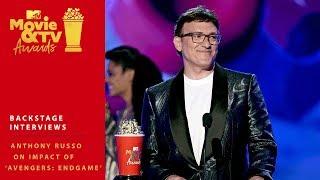 Anthony Russo on the Impact of 'Avengers: Endgame' | 2019 MTV Movie & TV Awards